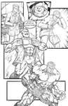 Hulk Comic Page