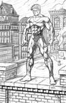 Nightwing - Digital Pencils