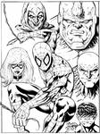 Spider-man and Foes