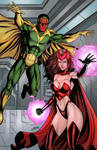 Scarlet Witch and Vision - Colors