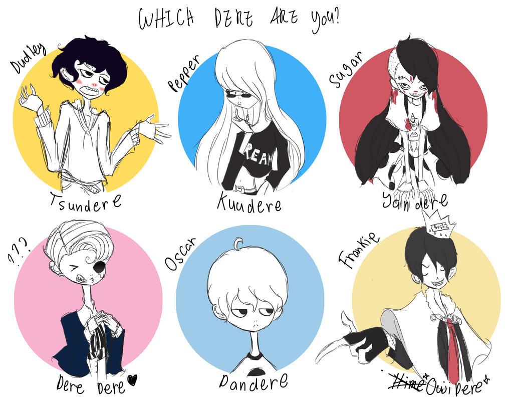 which dere are you? by animecrazy103 on DeviantArt
