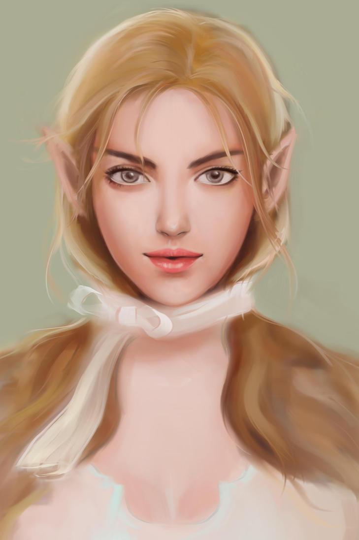 An Elf by madartky