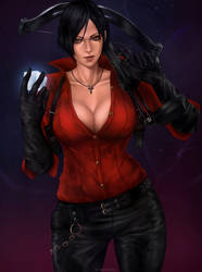 Ada Wong by We1comeToParadiseARt