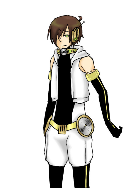 Male Utau Design for Italyveniziano by rockleeofthesand