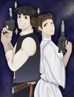 [Commission] Star Wars Ninjas by RazuKat