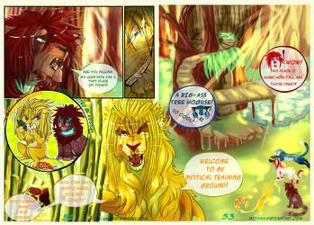 Silva Magna: Page 52-53 by Giiana