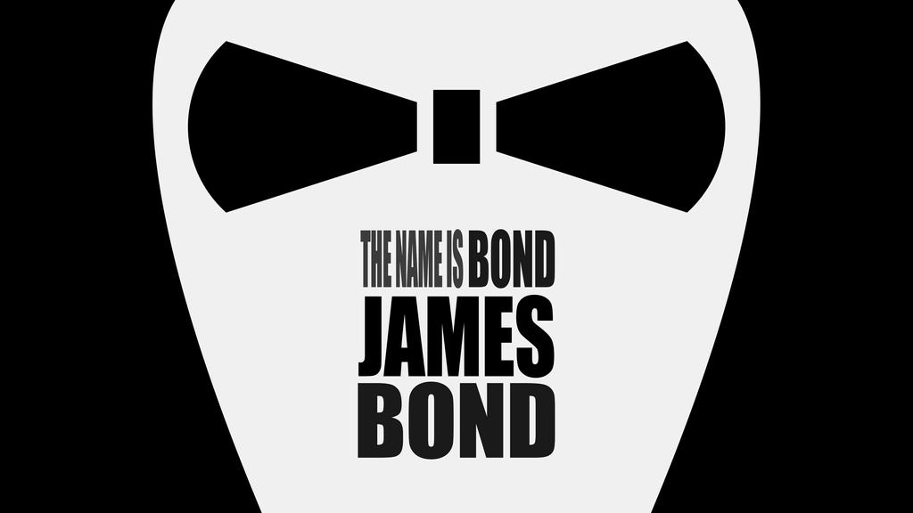 The name is bond james bond 4k by thegoldenbox on - My name is bond james bond ...