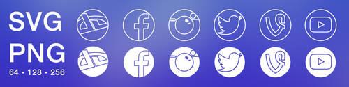 Social Circles - Icons