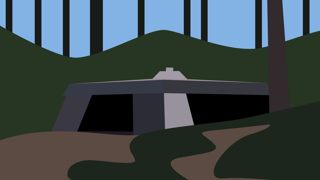 Shield generator bunker 4k by thegoldenbox on deviantart for Minimal art generator