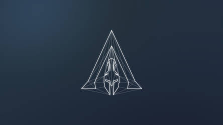 Assassin's Creed Odyssey Minimal Logo (4K) by TheGoldenBox