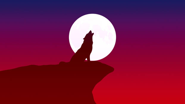 Howling Wolf (4K) by TheGoldenBox