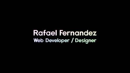 Rafael Fernandez (4K)