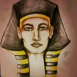 Egypt god by Balticdragon