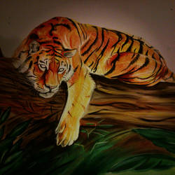 Tiger - WIP 2 by Balticdragon
