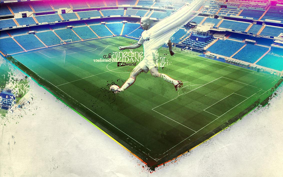Zinedine Zidane by cassi94