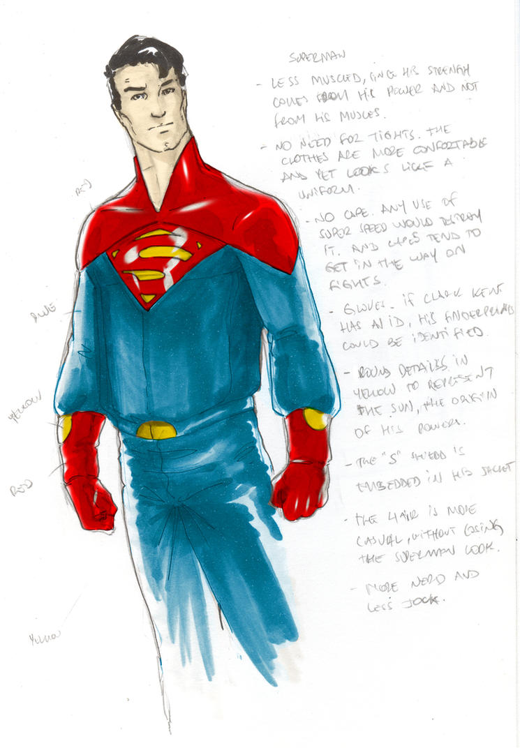 Redesign 1 - Superman by christiano-flexa