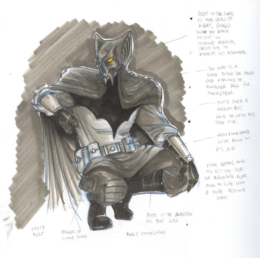 Redesign batman by christiano flexa on deviantart for Mr art design