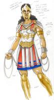 Redesign - Wonder Woman