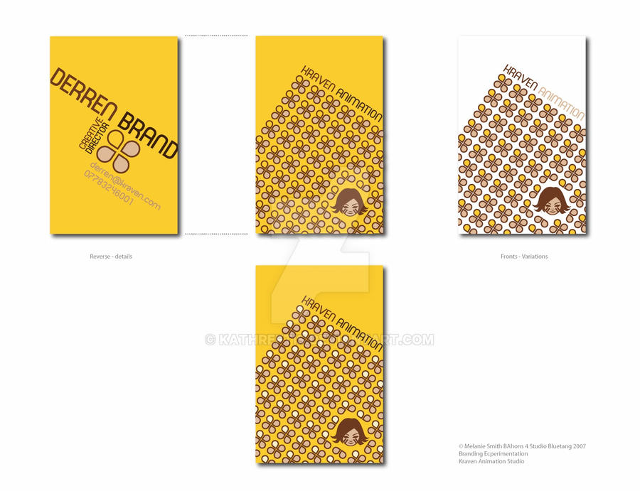 Kraven animation business Card by kathreftis on DeviantArt