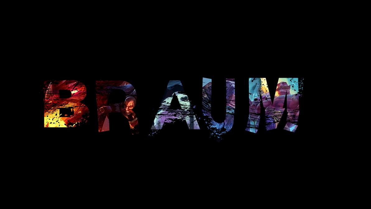 Braum, the Heart of the Freljord - Wallpaper by Juicername ...