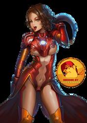 Render - Irongirl by Juicername
