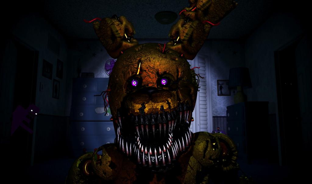 Nightmare springtrap by themechamelon on deviantart