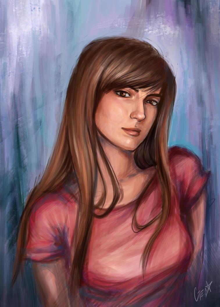 Portrait by jellyxbat