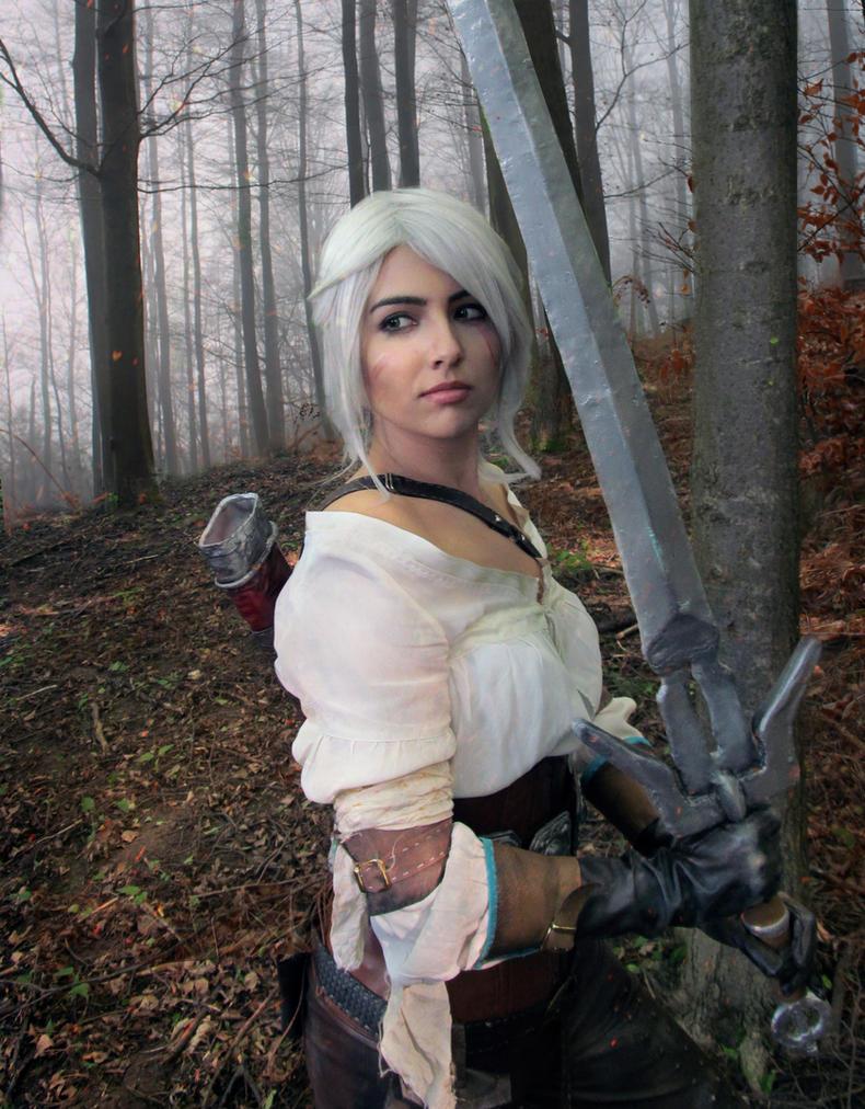 Ciri The Witcher 3 by jellyxbat