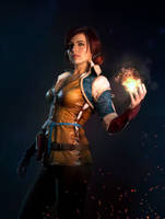 Triss Merigold cosplay 2 by jellyxbat