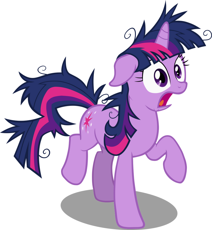 Twilight Sparkle Startled by Sairoch
