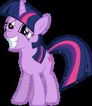 Twilight Sparkle Grinning Nervously
