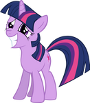 Twilight Sparkle Grinning Nervously