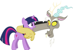 Twilight Sparkle and Discord