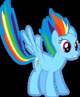 Rainbow Dash Landing by Sairoch