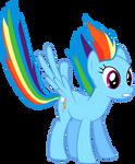 Rainbow Dash Landing