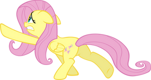 Fluttershy Escaping