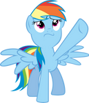 Resolute Rainbow Dash