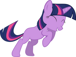 Happy Filly Twilight Sparkle by Sairoch