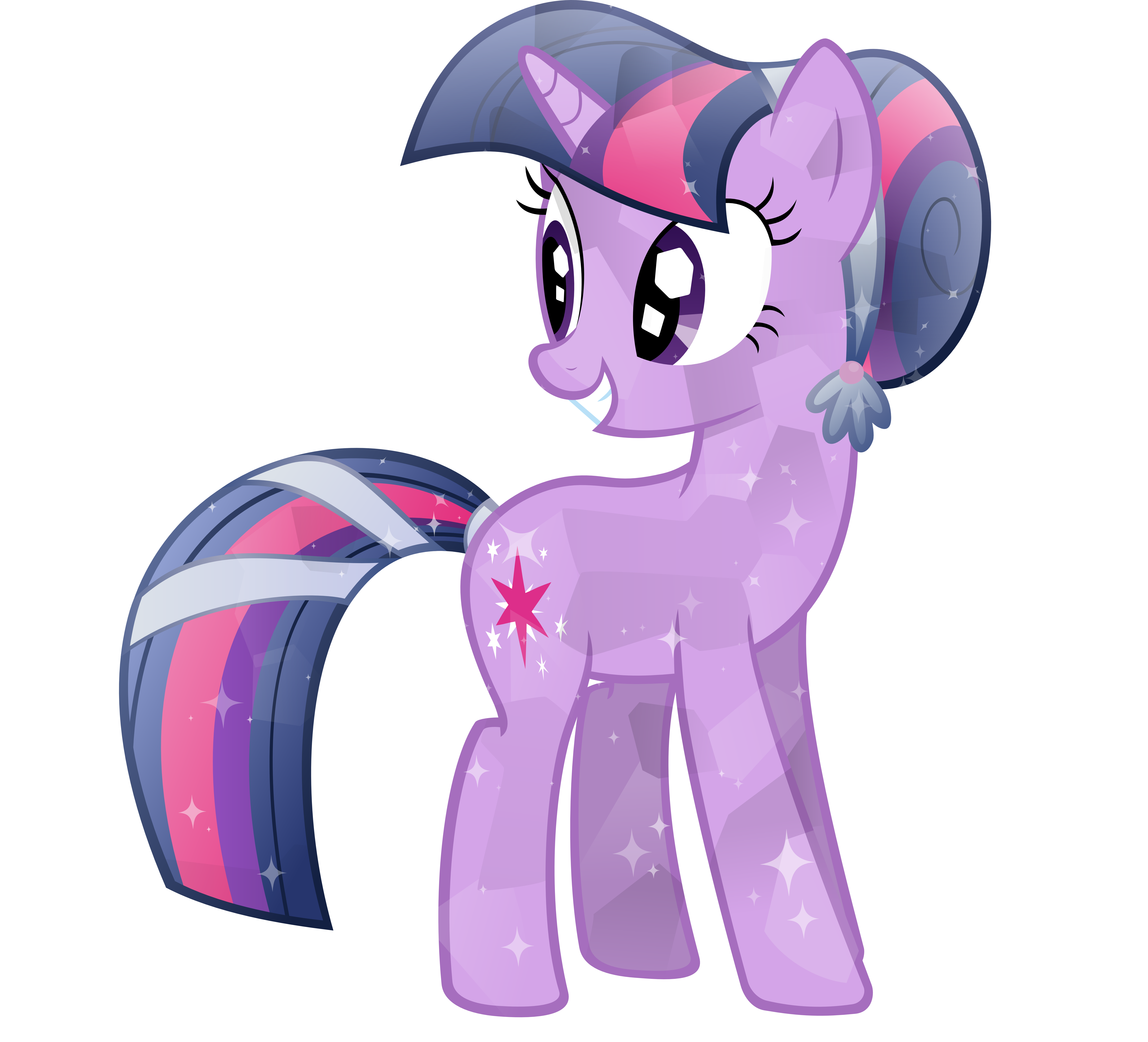 Crystal Twilight Sparkle by Sairoch