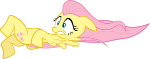 Fluttershy Blown Away by Sairoch