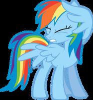 Rainbow Dash Wincing by Sairoch