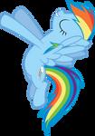 Cherubic Rainbow Dash