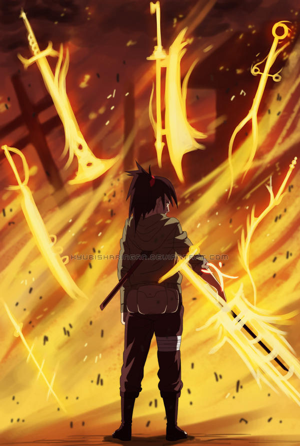 Seven Swords Flame Dance By Kyubisharingan On DeviantArt