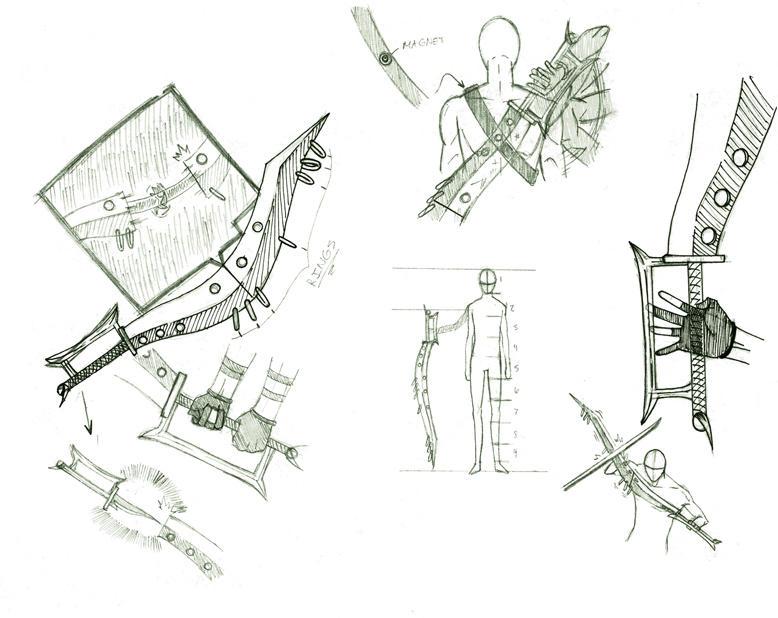 weapon concepts by kyubisharingan