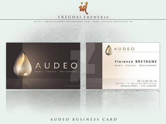 AUDEO Business Card