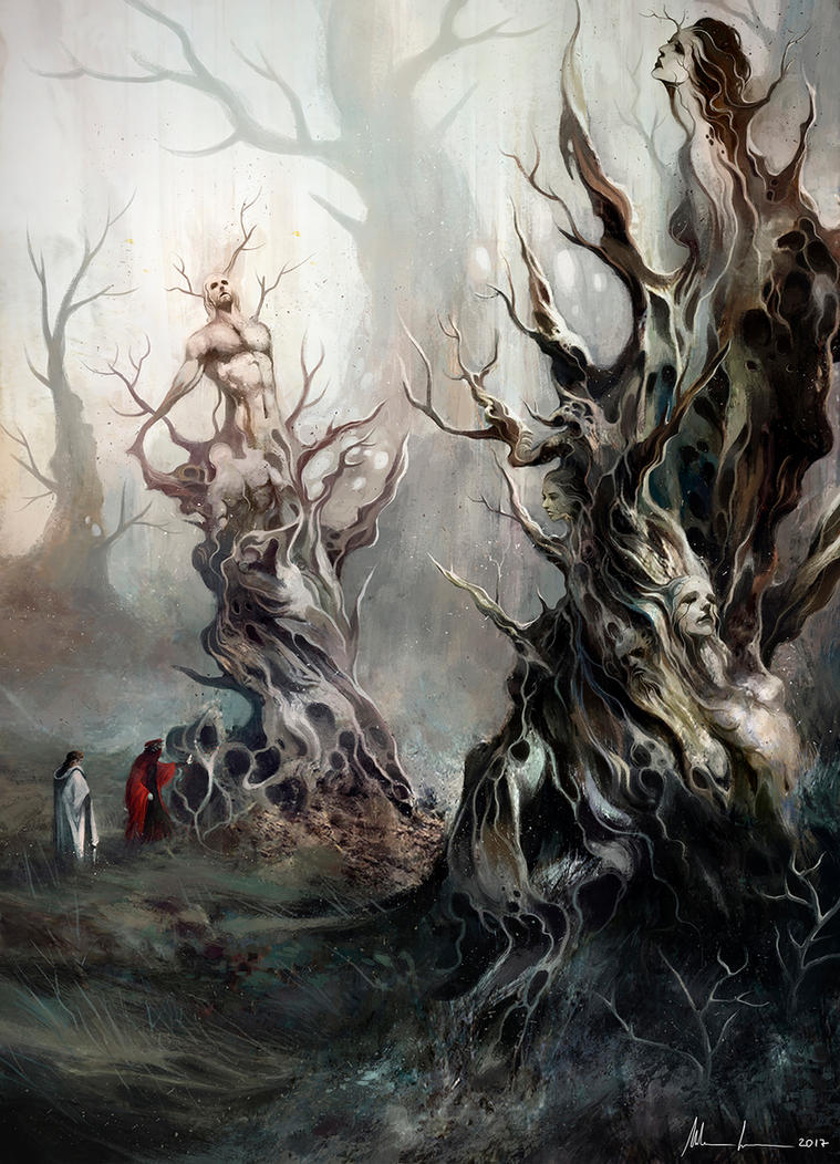 Divine Comedy - The Wood of Suicide by Blues-Design