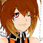 :doodle:Makoto Nanaya Portrail