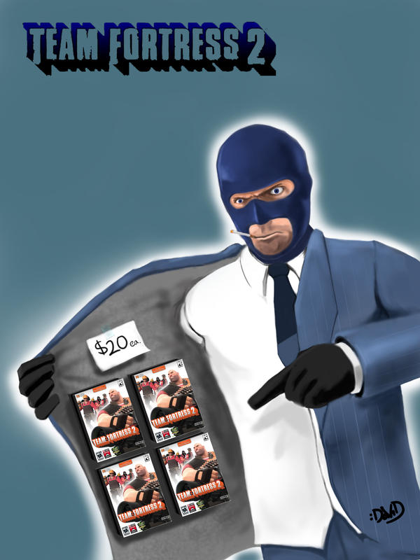 Tf2 Spray Spy Tf2 Spy Promo by