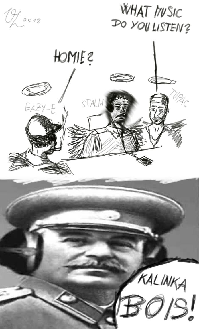 Stalins music BOI by VojtechHolas