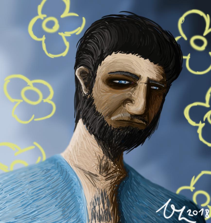 Me (Yea. I draw myself) by VojtechHolas